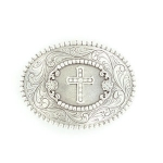 Jeweled Cross Buckle by Nocona