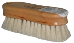 Natural Wood Banded Goat Hair Face Brush