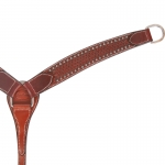 Bar H Equine Classic Basketweave 2' Breastcollar