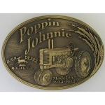 Poppin Johnnie Buckle by Montana Silversmiths
