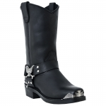 Men's Black Chopper Boots by Dingo