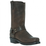 Men's Distressed Brown Dean Boot by Dingo Boots