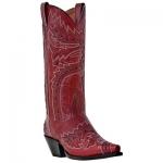 Women's Red Sidewinder Boot by Dan Post