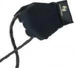 Women's Black Riding Gloves by Heritage Gloves