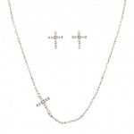 Quiet Faith Jewelry Set by Montana Silversmiths