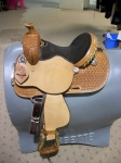"12"" Kids Barrel Saddle by Cactus Saddlery"