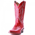 Women's Rhinstone Red Boot by Nocona Boots