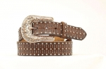 Women's Crystal Western Belt by Nocona Belts