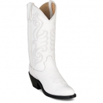 Women's Classic White Western Boot by Durango