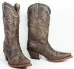Women's Chocolate Rancho Boot by Tony Lama