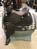 """14 1/2"""" Bison Roughout BTR by Martin Saddlery"""