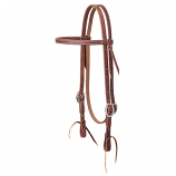 Working Cowboy Economy Browband Headstall by Weaver