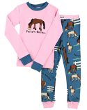 Kids Pasture Bedtime Girls PJ Set by Lazy One