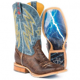 Men's Spiky Wire Boots by Tin Haul