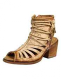 Women's Bone Lace Tall Top Sandal Shoe by Corral
