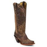 Women's Black Label Western Snip Toe Boot by Tony Lama