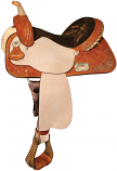 The Proven Aurora Barrel Racing Saddle from High Horse