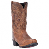 Men's Distressed Embroidery Western Boot by Laredo