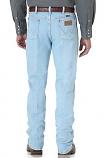 Men's Cowboy Cut Slim Fit jean in Bleach by Wrangler