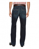 Men's Grant Medium Wash Indigo Relaxed Fit Jeans by Cinch