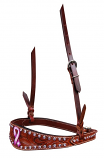 Bar H Equine Passionately Pink Collection Noseband