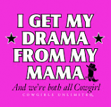 Girl's I Get My Drama Raspberry Tee by Moss Brothers