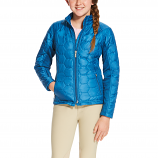 Kid's Rush Blue Volt Jacket by Ariat