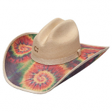 Women's To Dye For Straw Hat by Charlie 1 Horse