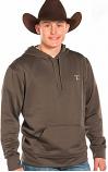 Men's Tuf Cooper Fleece Hoodie by Panhandle Slim