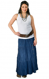 Women's Broom Stick Skirt by Crazy Cowgirl- More Colors Available