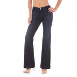 Women's Dark Blue Mae Trouser Jean by Wrangler