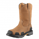 Men's Dusted Brown Overdrive Pull Waterproof Boot from Ariat