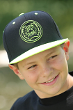 Men's Lime Green & Black Ball Cap by Cinch