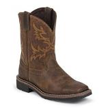 Kid's Stampede Western Boot by Justin