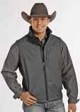 Men's Tuf Cooper Performance Soft Shell Fleece Vest by Panhandle Slim