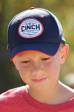 Boy's Navy and Red Vinatge Ball Cap by Cinch
