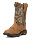 Kid's Aged Bark Workhog Boot by Ariat