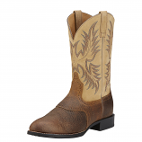 Men's Tumbled Brown Heritage Stockman Boot by Ariat
