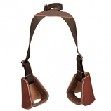 Lil' Dude Nylon and Leather Stirrups by Weaver Leather