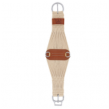 Natural Blend 27 Strand Roper Smart Cinch with Roll Snug Cinch Buckle by Weaver