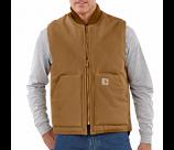 Men's Arctic Lined Duck Vest by Carhartt
