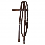 "5/8"" Plain Browband Headstall by Circle Y"