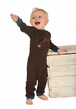 Kid's Pasture Bedtime Boy Union Suit by Lazy One
