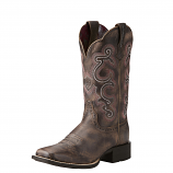 Women's Tack Room Chocolate Quickdraw Boot by Ariat
