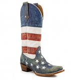 Women's American Patriot Boot by Roper