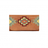 Adobe Allure Tri Fold Wallet by American West
