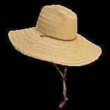 Large Crushable Raffia Hat by Dorfman