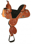 Circle Y Tammy Fischer Daisy Treeless Barrel Saddle 1309