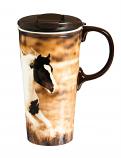 Realistic Horse Ceramic Mug by Evergreen