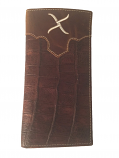 Men's Twisted X Brown Gator Wallet by Western Fashion